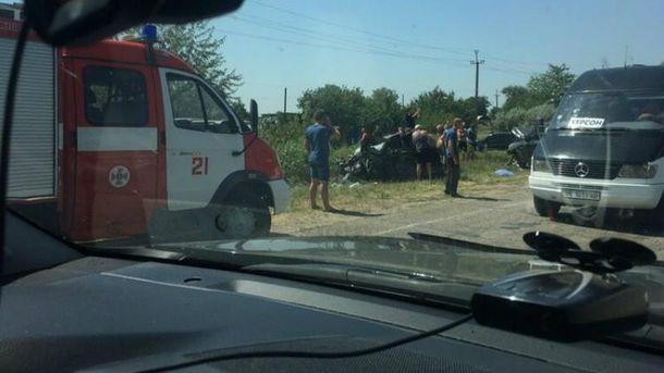 Ужасное ДТП произошло возле Херсона