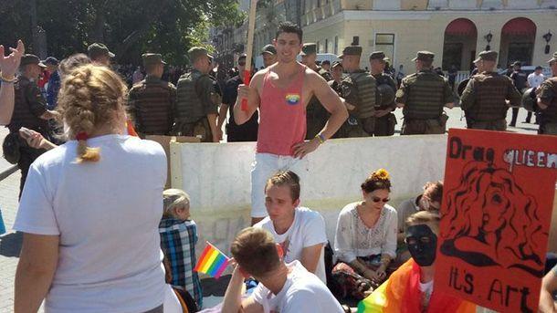 ЛГБТ-прайд стартовал в Одессе: появились первые фото марша
