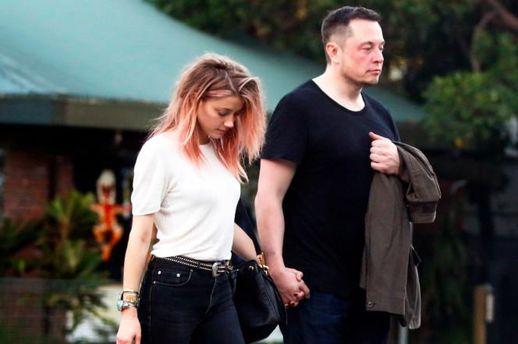 Илон Маск и Эмбер Хьорд вместе сделали официальное заявление относительно их отношений