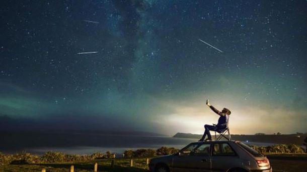 Як спостерігали за метеоритним дощем Персеїди: вражаючі фото з Instagram