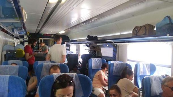 Комфорт в Інтерсіті+: до потяга не причепили кілька вагонів