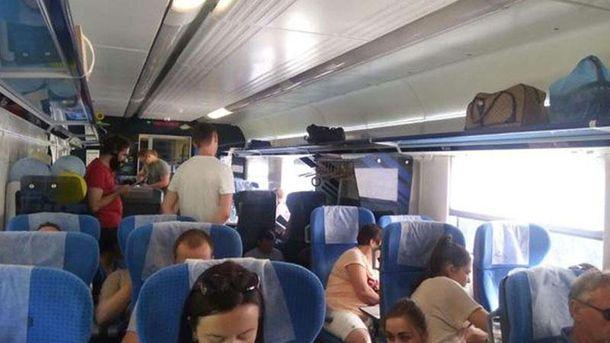Комфорт в Интерсити+: к поезду не прицепили несколько вагонов
