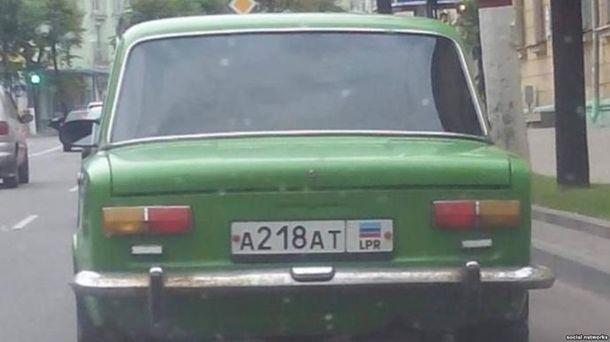 В Белоруссии задержали автомобиль сномерами «ЛНР»