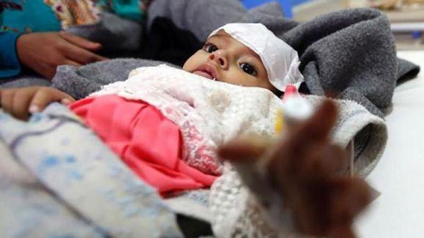 Ужасающее количество людей инфицировано холерой вЙемене