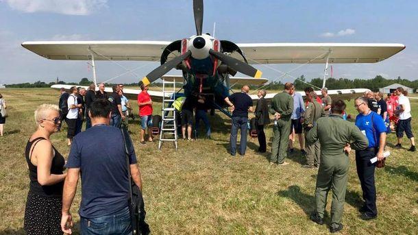 Украинский АН-2-100 установил мировой рекорд скорости