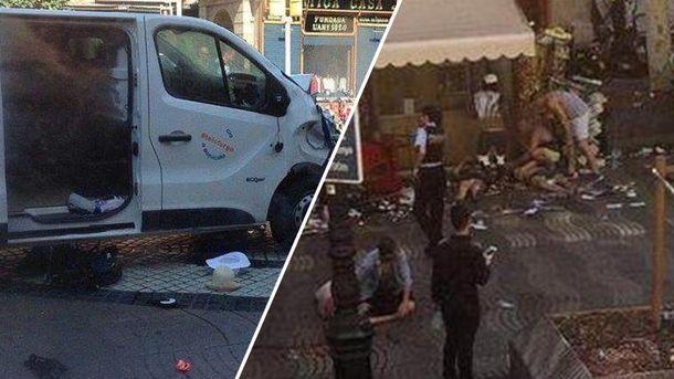 Теракт у Барселон: влада ¶спан зробила першу заяву щодо жертв