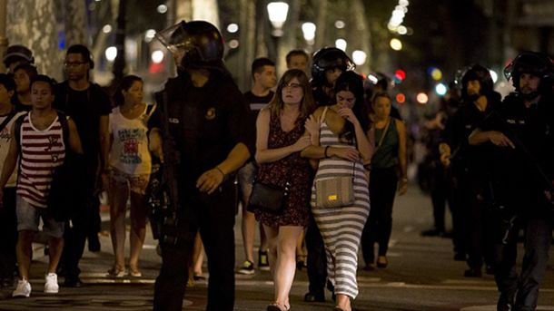 При теракте вБарселоне пострадали жители 24 стран