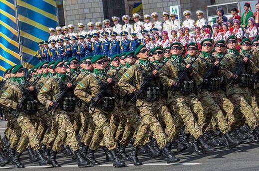 Парад НАТО ко Дню Независимости в Украине