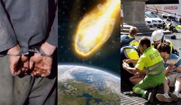 Главные новости 18 августа: убийство в СИЗО Одессы, на Землю надвигается астероид и теракты в Испании