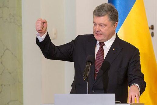 Вказав нароль Путіна: Порошенко пояснив, чому наДонбасі неприпиняють стріляти