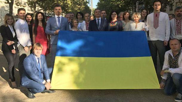 День флага: как в мире почитают украинский флаг