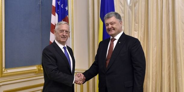 Военнослужащие стран-партнеров Украины приняли участие впараде коДню независимости