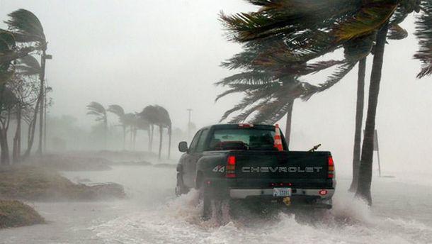 Ураган у США