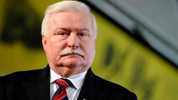 Экс-президент Польши Валенса попал вДТП