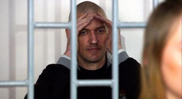 Осужденный заучастие вчеченской войне украинец Клых попал в поликлинику