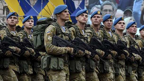 Врейтинге наилучших армий мира Украина заняла 30-е место