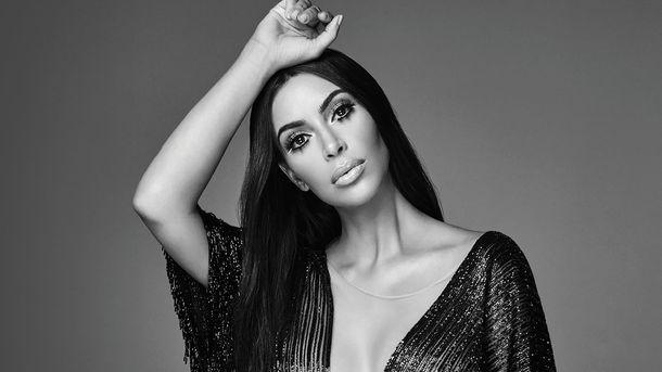 Умеет быть разной: шикарная Ким Кардашьян вновом фотосете
