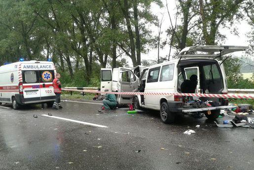 Авария на Харьковщине