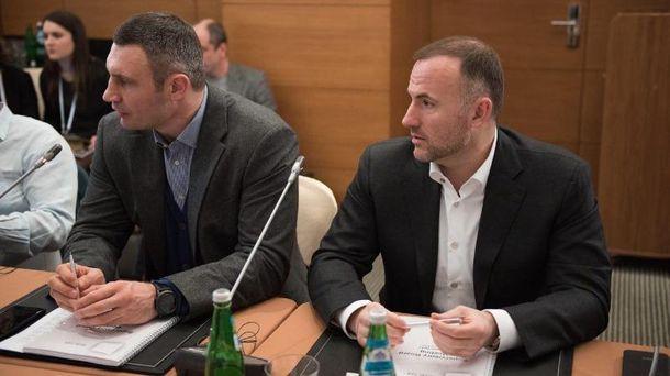 Виталий Кличко и Павел Фукс