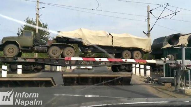 Перекидання дивізіону ракетного комплекту