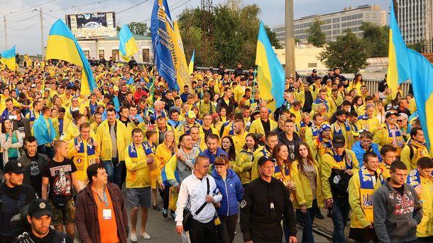 Украинцы передали скандальный