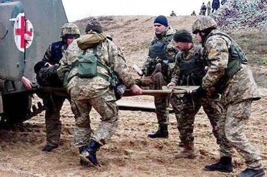 Боєць АТО отримав поранення на Донбасі