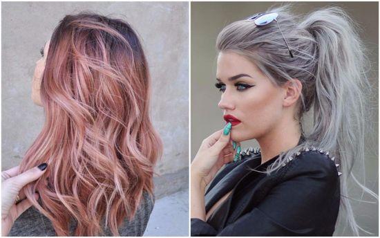 Интересный цвет волос