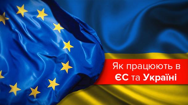 Робочий тиждень в Україні та ЄС