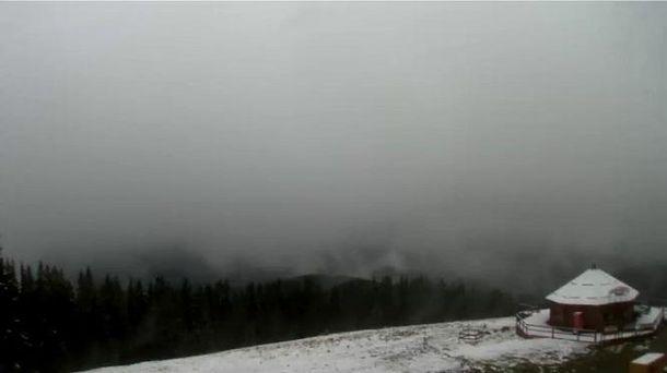 НаПрикарпатті випав перший сніг, є фото та відео