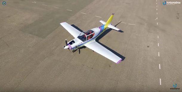 Новий літак Y1