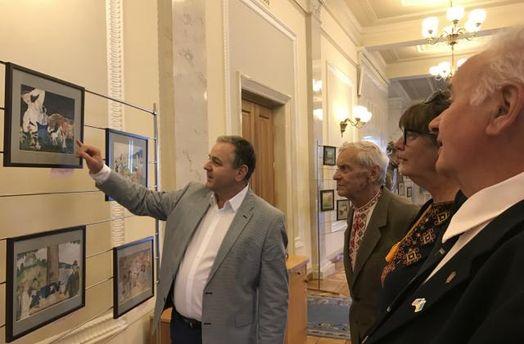 Выставка работ сына Ивана Франко – Тараса