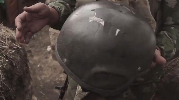 Шлем, который спас жизнь украинского воина на Донбассе