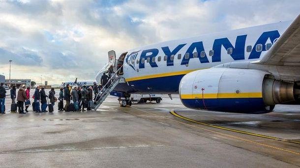 Авиакомпания Ryanair изменит правила провоза ручной клади