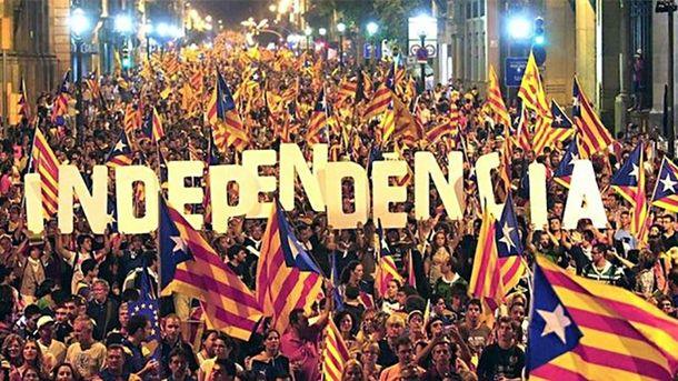 Каталония хочет получить независимость
