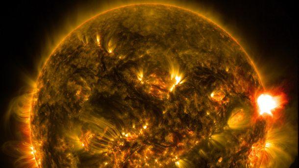 Спалах на сонці