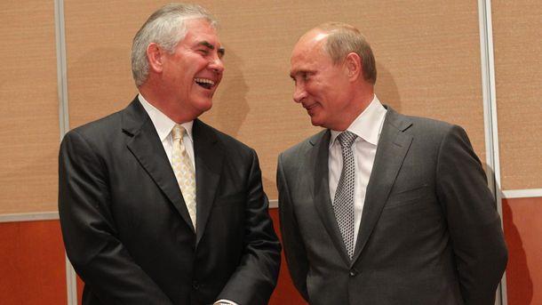 Путин пожалел о награждении госсекретаря США Рекса Тиллерсона