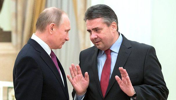 Украинские политики обвинили Зигмара Габриэля в доброжелательном отношении к России