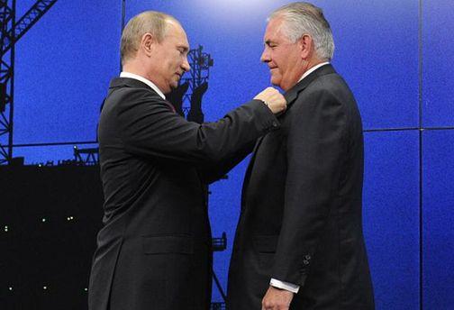 Заяву Путіна про Тіллерсона в Держдепі назвали