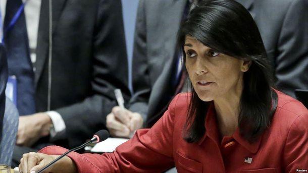 Никки Хейли призывает к введению мощных санкций против КНДР