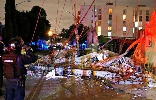Землетрясение в Мексике: 15 погибших