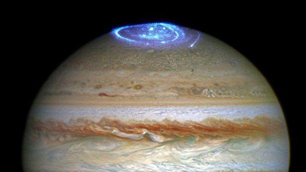 Полярне сяйво на Юпітері