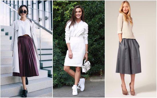 Трендовые юбки осени 2017