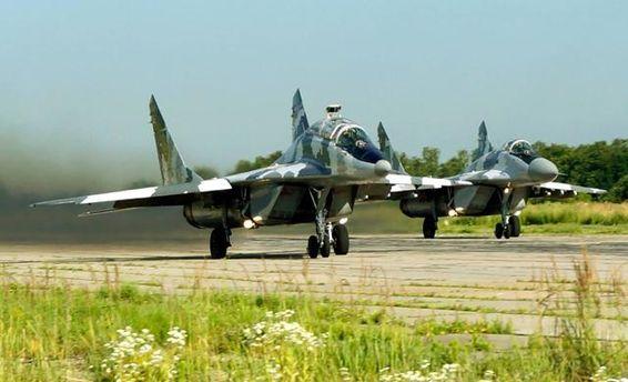 Майже всі бойові військові частини Повітряних Сил ЗСУ приведені у бойову готовність