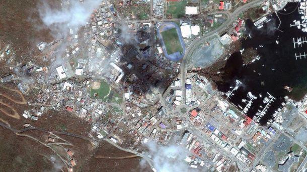 Апокалипсис на островах в Карибском море после урагана