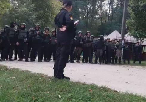 Співробітники МВС блокують ветеранів батальйону