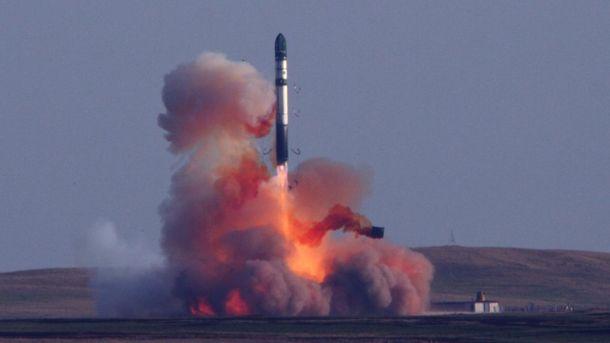 Межконтинентальная баллистическая ракета «Ярс» запущена скосмодрома Плесецк