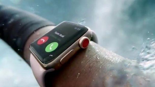 Ролик для Apple Watch знятий наЗалізничному вокзалі та«Золотих воротах»
