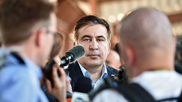 Міхеїл Саакашвілі зник з готелю у Львові