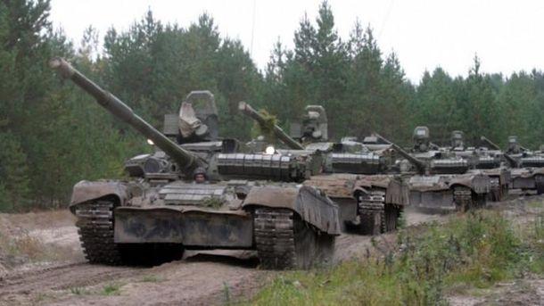 Бойовики розмістили 40 танків біля Донецька,— ОБСЄ