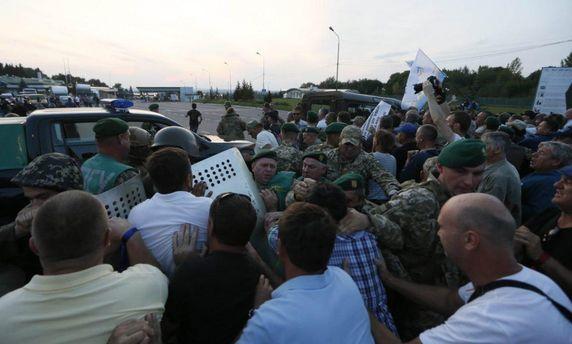 Прорыв Саакашвили